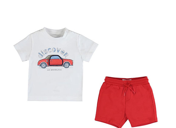 1006/621 Car T-Shirt & Shorts Set