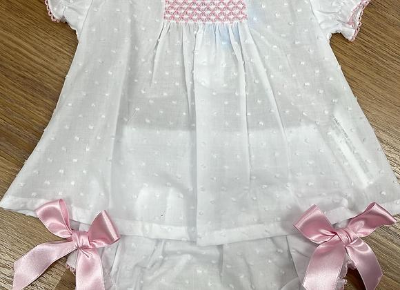 Sardon Girls White Dress
