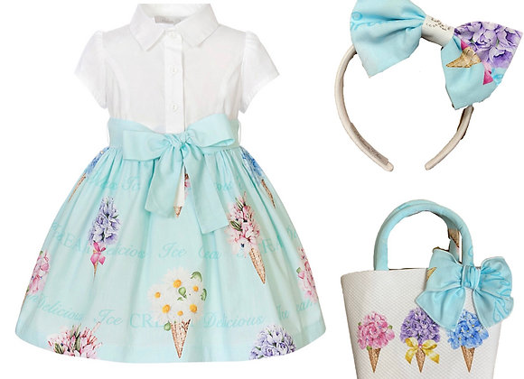 Balloon Chic Ice Cream Dress with Matching Accessories