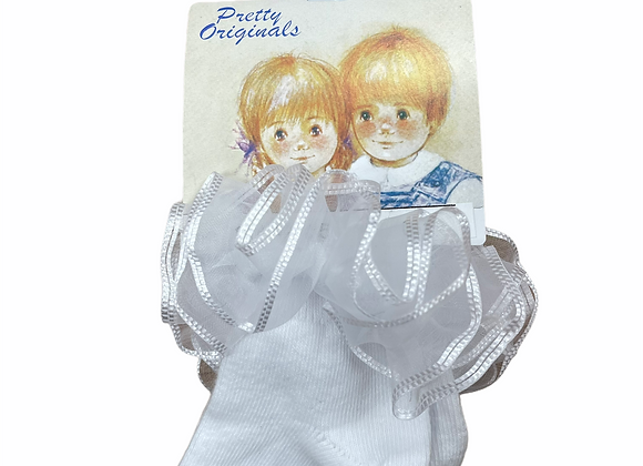 Pretty Originals White Socks