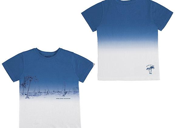 3035 Dip Dye Blue T-Shirt