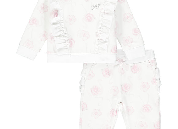 Little A Flamingo Tracksuit.