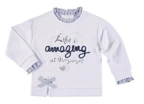 3475 White Sweater