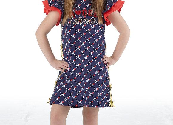 A.Dee 'A' Print Dress