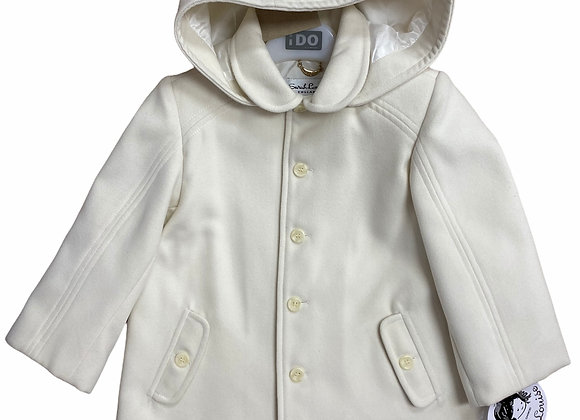 Sarah Louise Cream Duffle Coat