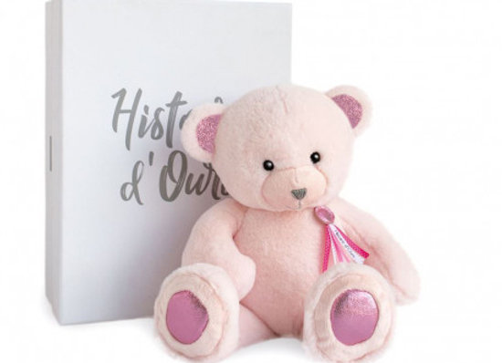 Histoire D'Ours Pink Teddy Bear