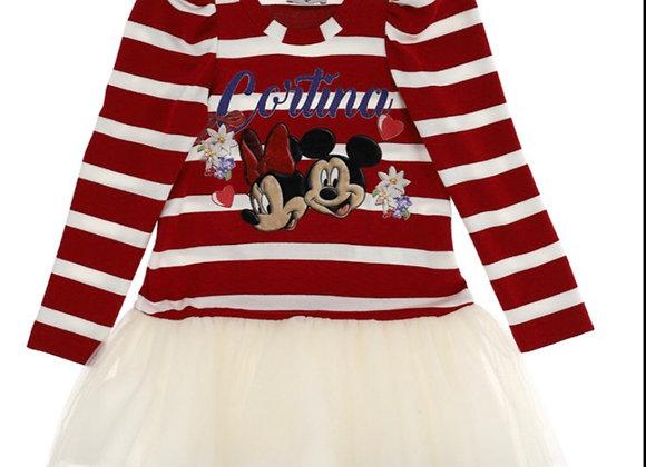 Monnalisa Minnie Tulle Dress