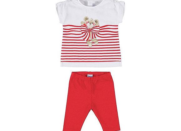 1716 Teddy T-Shirt & Leggings Set