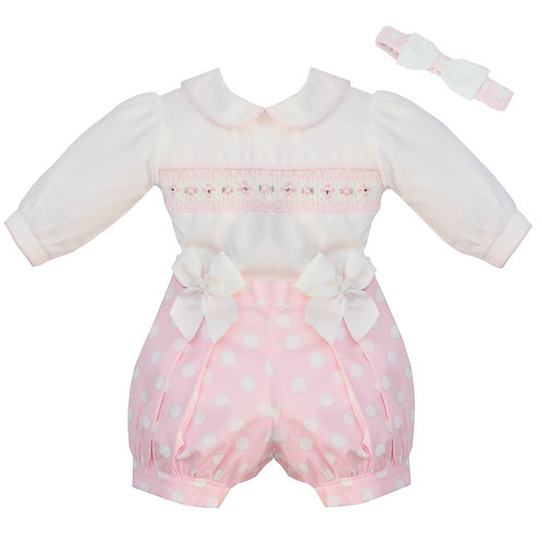 Pretty Originals Spot Romper Outfit