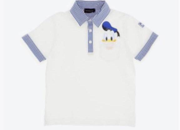 Monnalisa Boys Donald Duck Polo Shirt