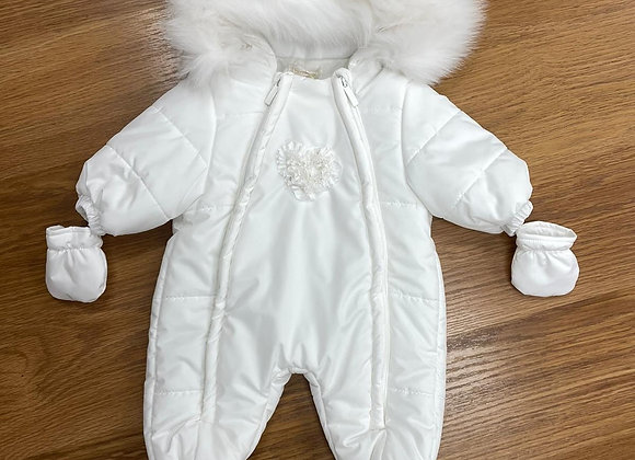 Bimbalo Cream Snowsuit