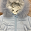 Thumbnail: Bimbalo Pale Blue Snowsuit Teddy