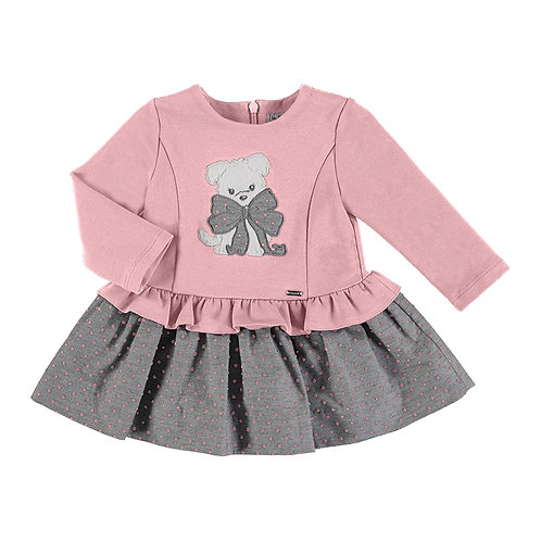 Mayoral Pink Puppy Dress