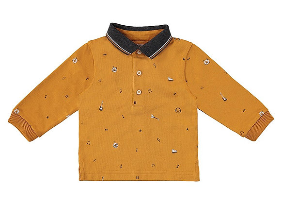 2142 Mayoral Mustard Poloshirt