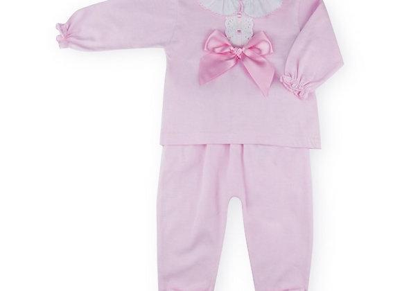Sardon Pink 2pc set with Bow
