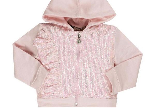 EMC Pink Sequin Zipper