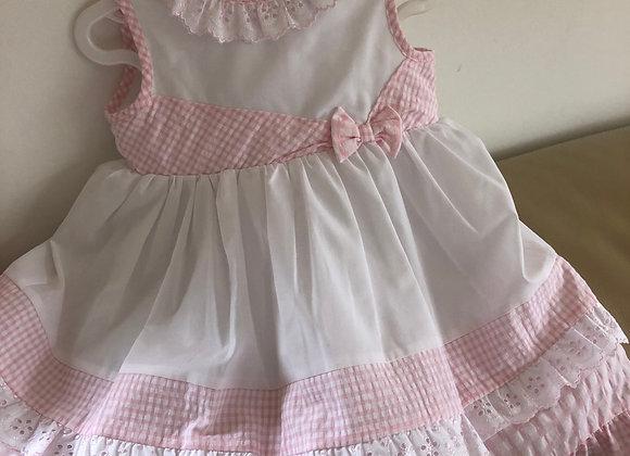 Dani White & Pink Dress