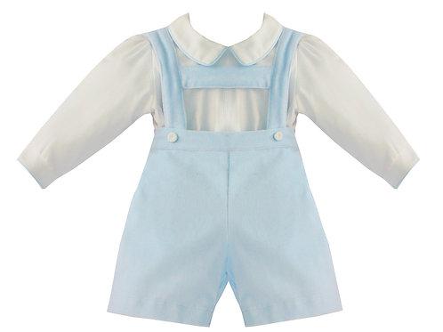 Pretty Originals Blue Velvet Shorts