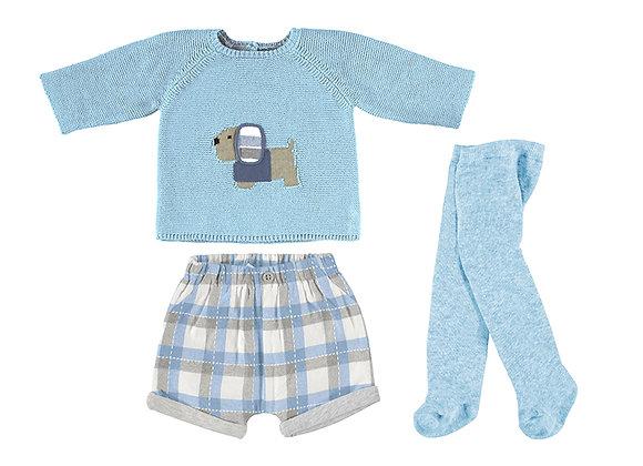 Mayoral Blue Short Set 2223