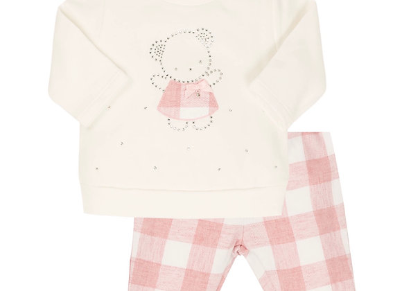 EMC Pink Check Outfit