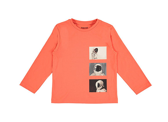 Mayoral Orange Sweater  4086
