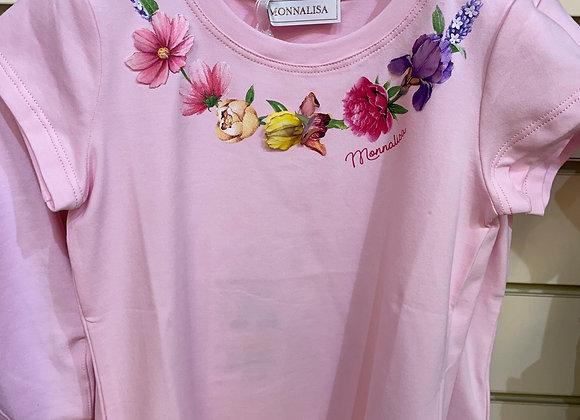 Monnalisa T Shirt PINK