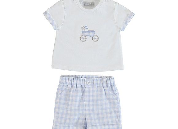 1205 Mayoral Bike T-Shirt & Shorts Set