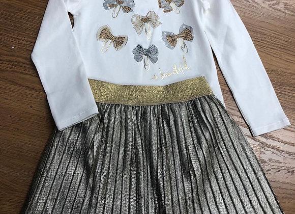 EMC Metalic Skirt Set