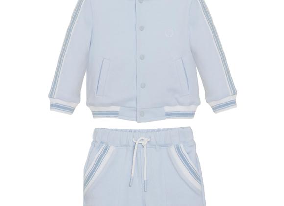 Patachou Short Soft Bomber Jacket & Shorts Set