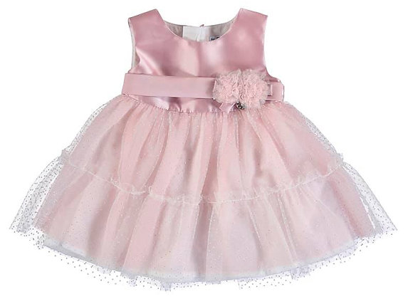 1963 Pink Dress with Tulle Skirt