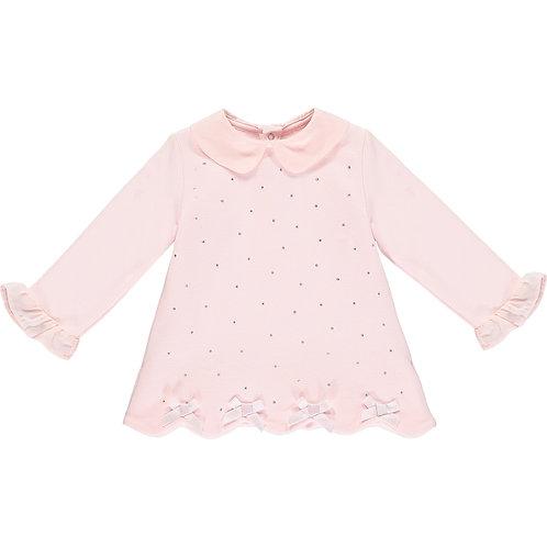 Little A Pink Sparkle Dress