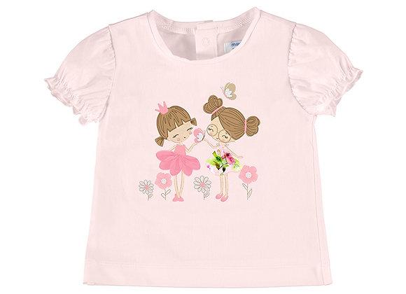 1078 T-Shirt With Girls Motif