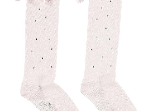 A.Dee Pink Knee High Sock