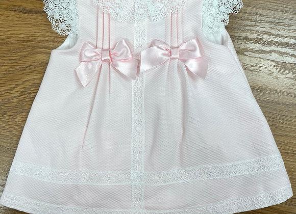 Sardon Girls Pink Dress