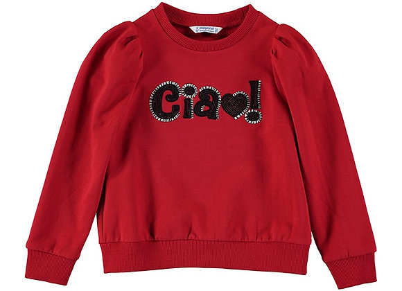 4429 Mayoral Red Sweater
