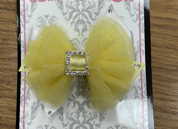 Small Yellow Bow