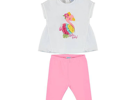 1798 Flamingo Top & Leggings Set