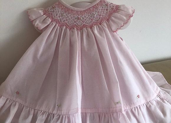 Sarah Louise Pink Yolk Dress