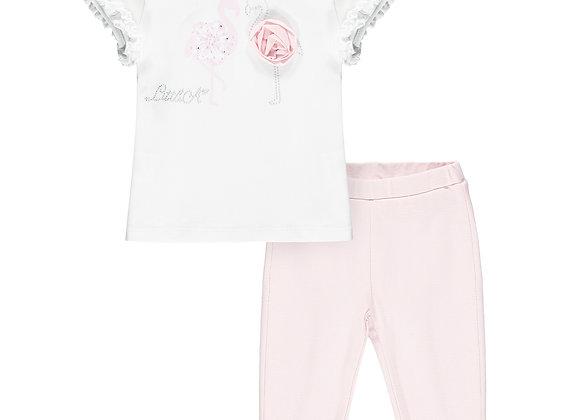 Little A Flamingo Legging Set