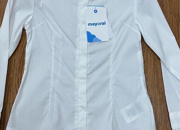 Mayoral diamanté collar blouse