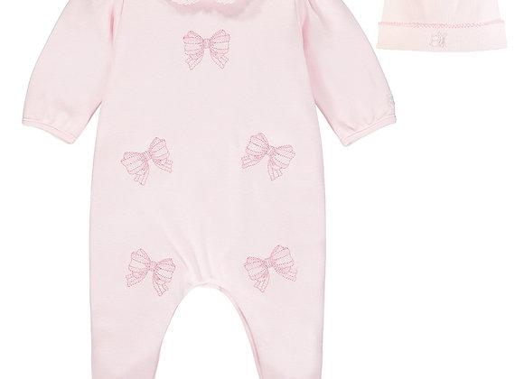 Emile Et Rose Winter Pink Babygrow