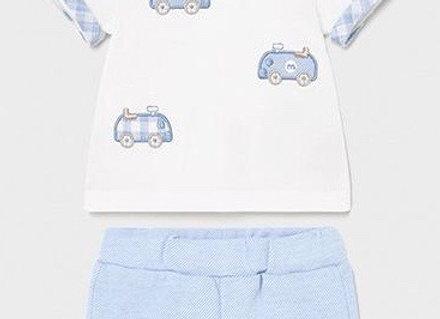 1642 Cars Shorts & T-Shirt Set