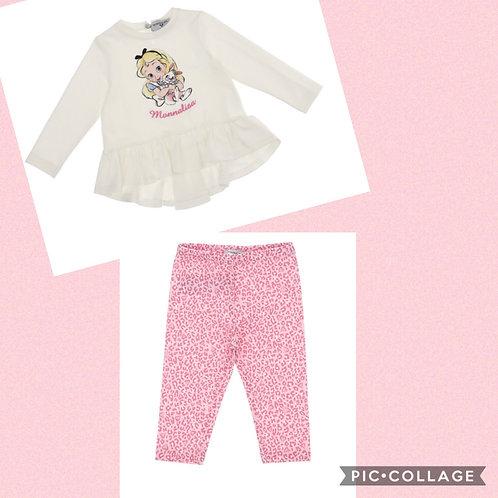 Monnalisa Bebe Alice Outfit