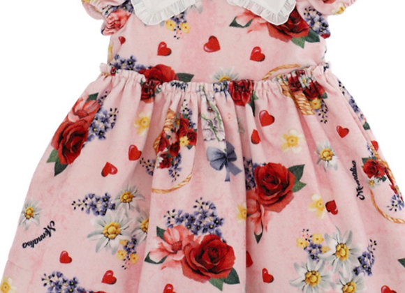 Monnalisa Bebe Floral Dress