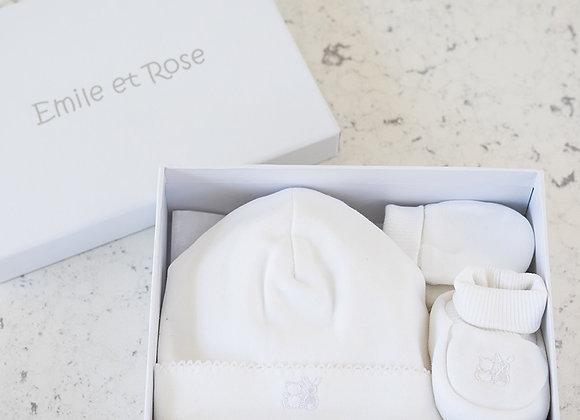 Emile et Rose Nox White Boxed Set