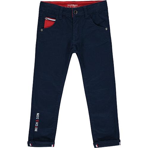 Mitch & Son Navy Trouser
