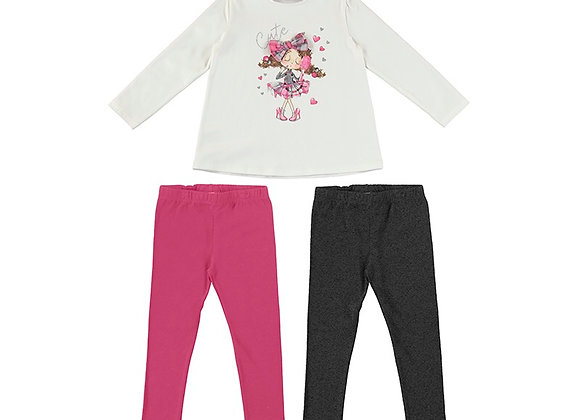 4746 Mayoral Cerise Outfit