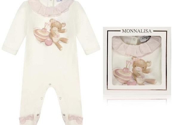 Monnalisa Bebe Teddy All-in-One