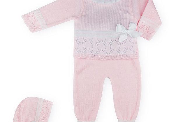 Sardon Girls Pink Knit 2pc