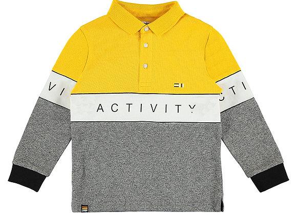 Mayoral Mustard Poloshirt 4154